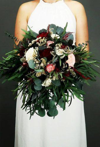 wedding bouquets 2019 green boho bouquet mkedracreations