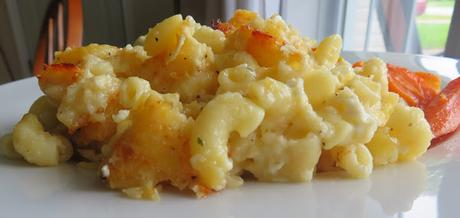 Old Fashioned Easy Baked Mac & Cheese (small batch)