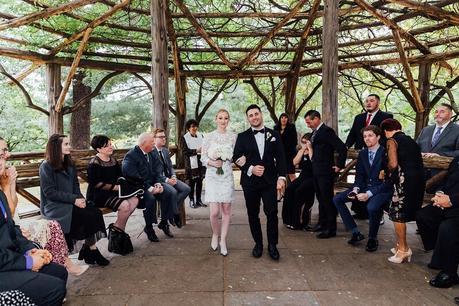 Alex and David's Autumn Wedding in Cop Cot