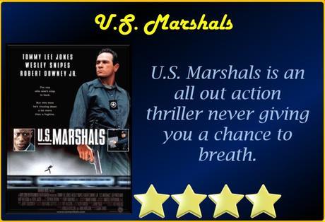 ABC Film Challenge – 1990s Movies – U – U.S. Marshals (1998) Movie Review