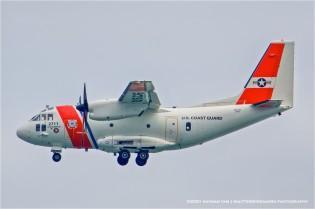 SFO, airliner,  Alenia HC-27J Spartan, USCG 2711