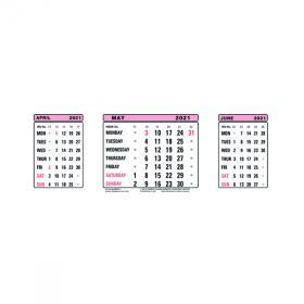 Portrait) on one page in easy to print pdf format. Calendars Officestationery Co Uk