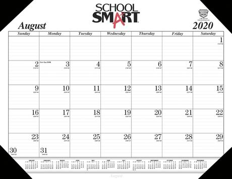 The best keyboards provide comfort, customization, and responsiveness. School Smart 17 Month Desk Pad Calendar August 2020 To December 2021