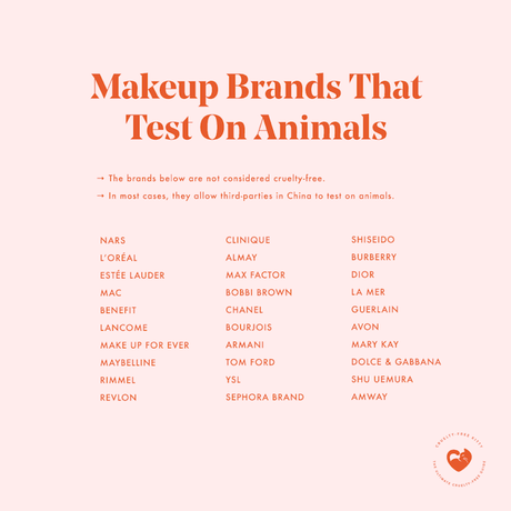 Makeup Brands That Test on Animals