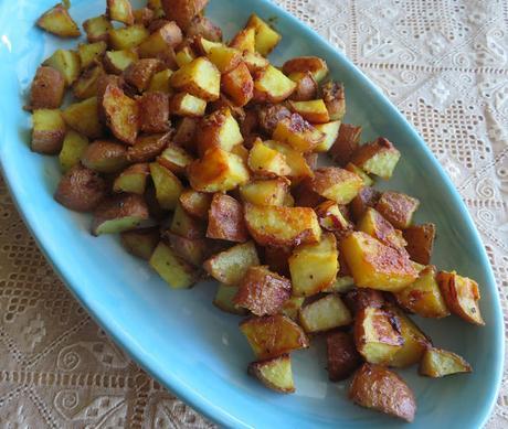 Honey Mustard Roast Potatoes