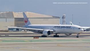 September 2021 Hawaii trip, JA735J  Boeing 777-346(ER) - Japan Airlines,