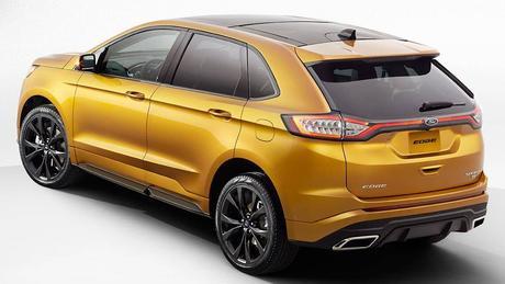 Ford Edge SUV good chance for Australia - Car News   CarsGuide
