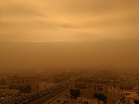 CSK match at Sharjah - sandstorm, Tim David and more !!