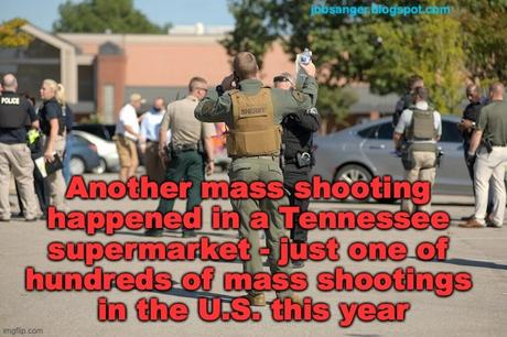 Mass Shootings Still On A Record Pace In U.S. This Year