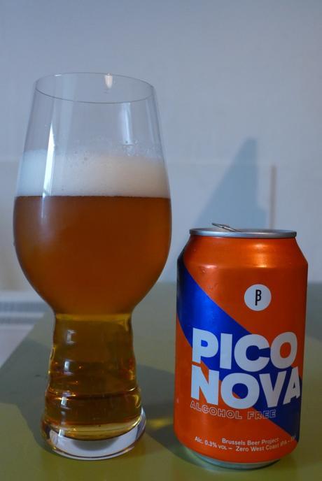 Tasting Notes: Brussels Beer Project: Pico Nova – Zero West Coast IPA