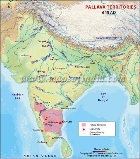 Kanchi Thalaivaas !  ~ history of Pallava Kingdom