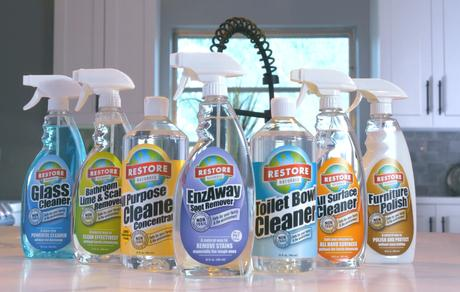 Restore Naturals: Plant-Based Cleaners for Your Home