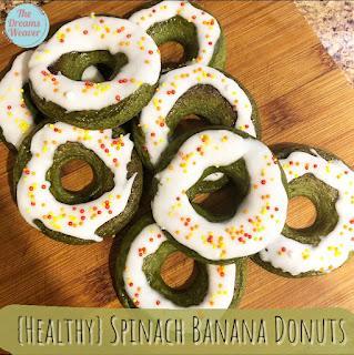 {Healthy} Spinach Banana Donuts ~ The Dreams Weaver
