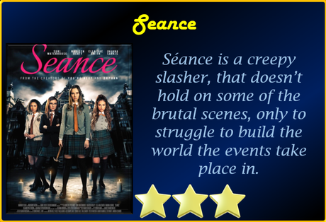 Séance (2021) Movie Review 'Scares Up a Treat'