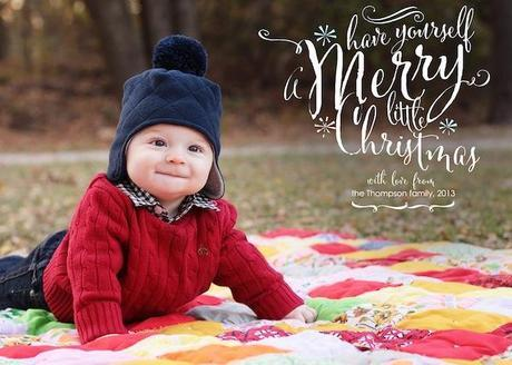 Post image for Personalized Holiday Cards Using Cantoni Font
