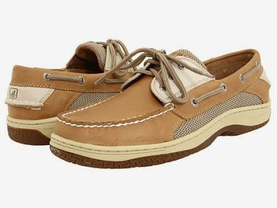 Custom made Sperry golf shoes