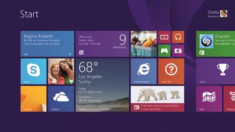 windows 8.1 personalisation