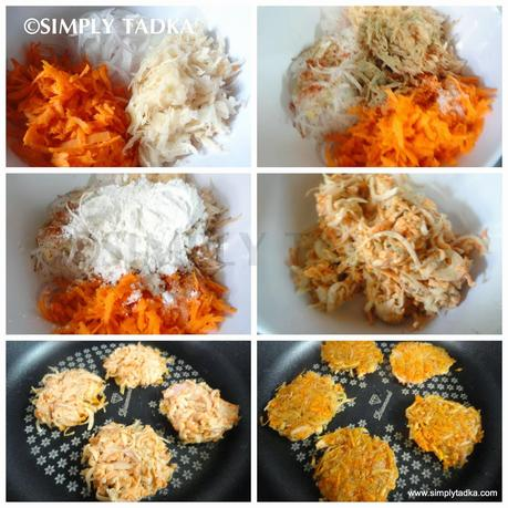 Vegetable Latke with Apple Sauce and Sour Cream