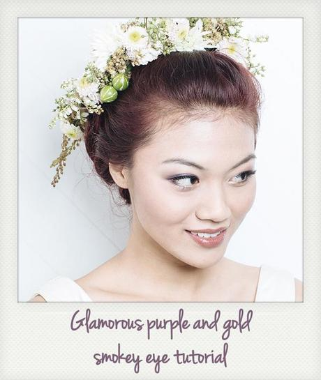 Glamorous Wedding Makeup Tutorial : Bridal Makeup Tutorial by Joanna Koh for The Wedding Scoop ...