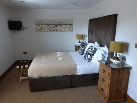 Porthcothan Eco Cottage bedroom - Merlin Farm Holiday Cottages