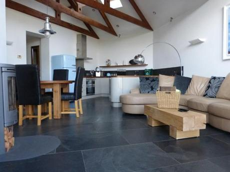 Porthcothan Eco Cottage interior