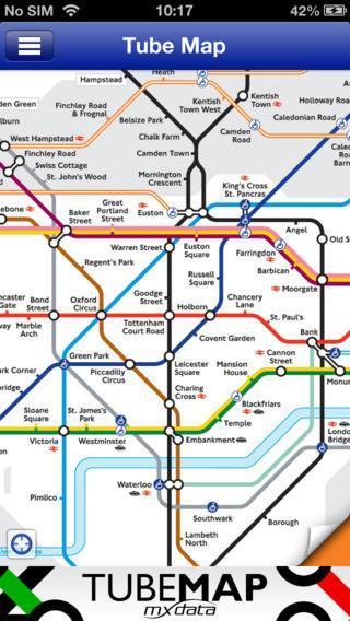 Tube Map iphone