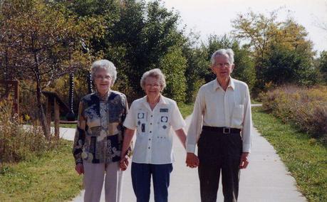 With Al & Helen