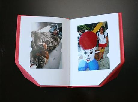 sculptural photo album