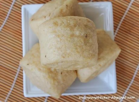 Wholewheat Okara Mantou (全麥豆渣饅頭) - Paperblog