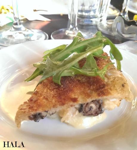 Dominique's Kitchen Escargots Brie