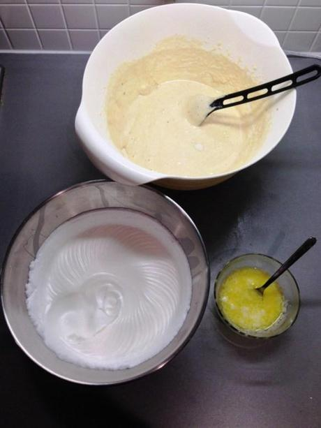 opera cake method joconde sponge recipe meringue mixture ground almonds melted butter