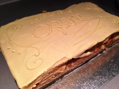 opera cake great bloogers bake off gbbo caramel apple with white chocolate recipe