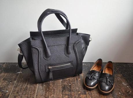 celine micro purse - C��line Luggage Tote Dupe - Paperblog