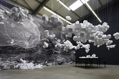 Paper Arts Paper Art Installation Paperblog