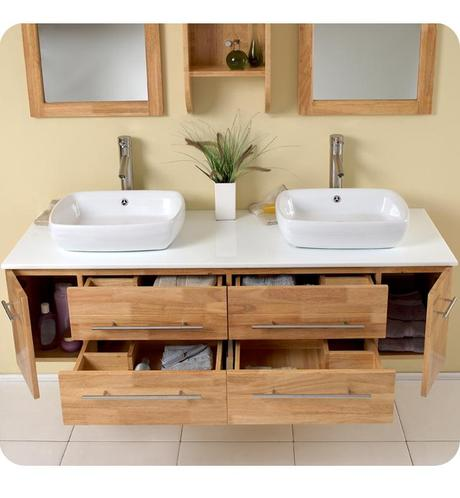 Floating Bathroom Vanities: Space and Style to Spare! - Paperblog