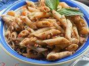 Pasta Alla Trapanese Tossed with Tomato Almond Pesto