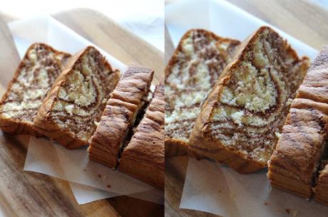Marbled Chocolate Castella Cake