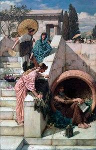 In Praise of Diogenes the Cynic [Free Verse]