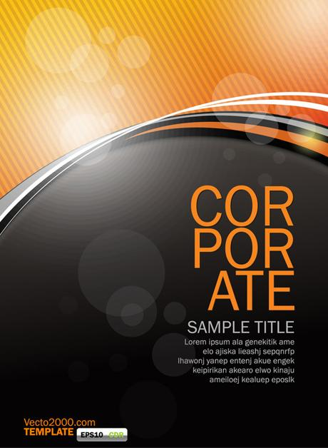 If it doesn't lead to anything else, you've made a profit. Orange Flyer Template - Ai, Svg, Eps Vector Free Download