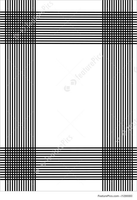 Once you have a business idea, it's time to get to the real work of getting it off the ground and running. Black Vertical And Horizontal Lines Stock Illustration