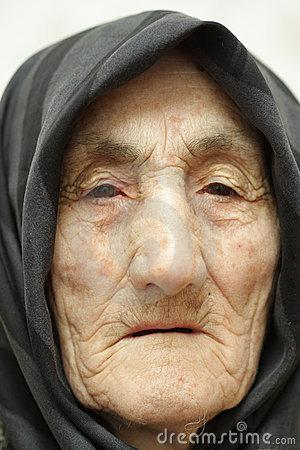 | meaning, pronunciation, translations and examples Old Woman Face Stock Photos - Image: 5813173