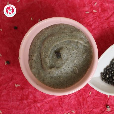 Are you looking for an easy and yummy weight gain recipe for the baby? Our black urad dal rice porridge powder is a best choice!