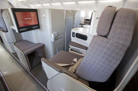 Sometimes business class is offered on a flight in lieu of firs. Iberia Airlines for International Business Class Review