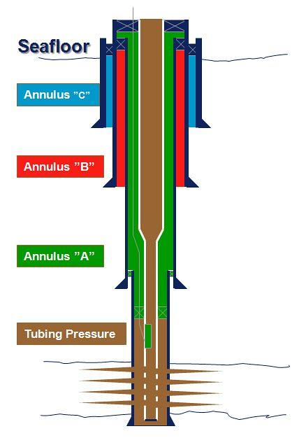 Raw natural gas comes from three types of wells: Oil Well Tubing, Casing, and Annulus | Subsea well tubing