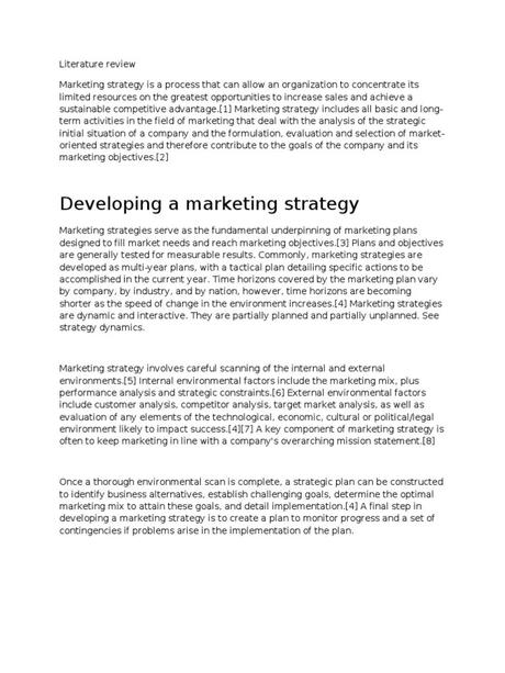Read full profile starting a business is just half what it takes to be an entrepreneur, tak. Literature Review   Marketing Strategy   Strategic Management