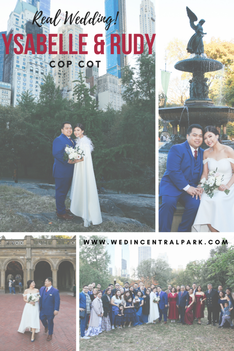 Ysabelle and Rudy's Cop Cot Wedding in October