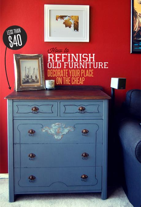 In both scenarios, new types of bu. How to Refinish Old Furniture: Decorate Your Place on the