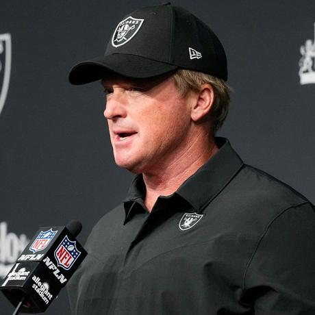 Jon Gruden is the face of white America
