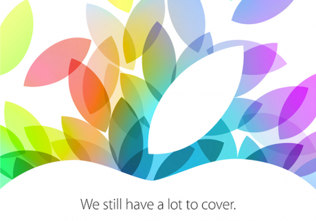 apple event october 2013