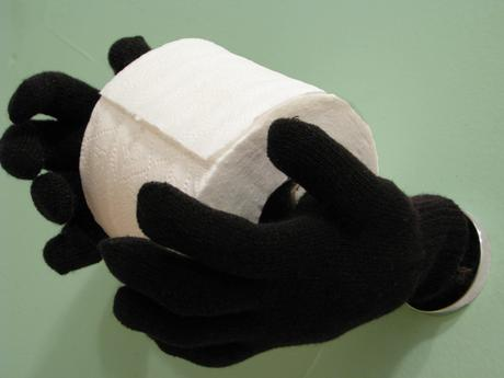 Fun Halloween Ideas For Your Bathroom Magic Hands Hold Your Toilet Paper